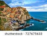 italian coast | Shutterstock . vector #727675633