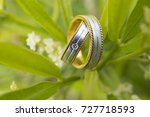 wedding ring is a prefect...   Shutterstock . vector #727718593