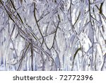 Sunny Icicles Background