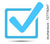 approved icon box with a green...   Shutterstock .eps vector #727778347