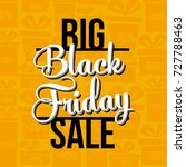 abstract vector black friday... | Shutterstock .eps vector #727788463
