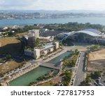 puerto rico march 2017  aerial... | Shutterstock . vector #727817953