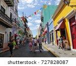 old san juan  puerto rico...   Shutterstock . vector #727828087