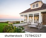 seaside house on martha's... | Shutterstock . vector #727842217