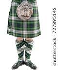 man torso in traditional... | Shutterstock . vector #727895143