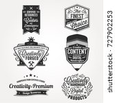 creative content professional... | Shutterstock .eps vector #727902253