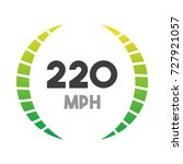 color vector tachometer ...   Shutterstock .eps vector #727921057