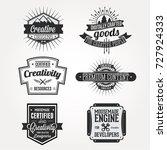 creative origins content... | Shutterstock .eps vector #727924333