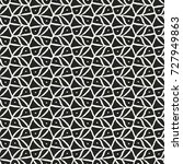 abstract ornate grid and dot... | Shutterstock .eps vector #727949863