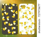 smart phone design with juicy... | Shutterstock .eps vector #727973677
