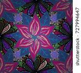beautiful fabric pattern. eps10 ...   Shutterstock .eps vector #727994647