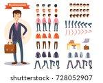 businessman cartoon character... | Shutterstock .eps vector #728052907