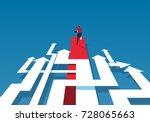 complex road | Shutterstock .eps vector #728065663