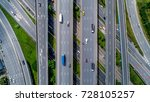 top view city traffic of...   Shutterstock . vector #728105257
