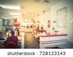 blurred image a compact fast... | Shutterstock . vector #728123143