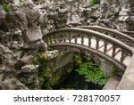 ancient stone arch bridge over... | Shutterstock . vector #728170057