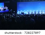 audience at the conference hall.... | Shutterstock . vector #728227897