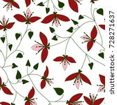 vector seamless pattern with... | Shutterstock .eps vector #728271637