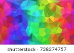 colorful polygon background | Shutterstock . vector #728274757
