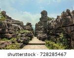 longlin stone forest  chongqing ... | Shutterstock . vector #728285467