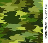 camouflage military background | Shutterstock . vector #728344513