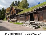 Old Farmstead From Setendal In...