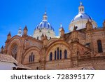 historic centre of santa ana de ... | Shutterstock . vector #728395177