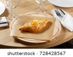 khachapuri in adjara on a... | Shutterstock . vector #728428567