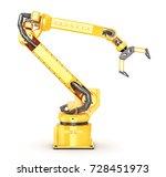 factory manipulator. automatic... | Shutterstock . vector #728451973