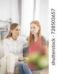 best friends sitting together... | Shutterstock . vector #728503657