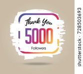 thank you design template for... | Shutterstock .eps vector #728503693