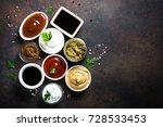 set of sauces   ketchup ... | Shutterstock . vector #728533453