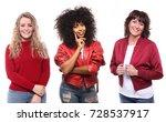 group of women | Shutterstock . vector #728537917