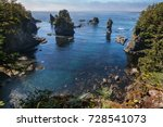 Small photo of View from Cape Flattery, Makah Reservation, Olympic Peninsula, Washington state,USA