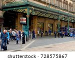 entrance to  central station ...   Shutterstock . vector #728575867