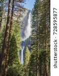 Lower And Upper Yosemite Fall...