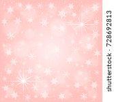 rose gold christmas background... | Shutterstock .eps vector #728692813