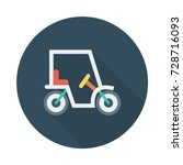 buggy icon | Shutterstock .eps vector #728716093