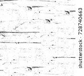 grunge texture black and white. ... | Shutterstock . vector #728740663