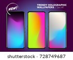 set of holographic gradients....