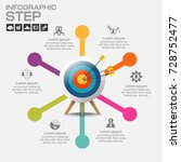 infographic design vector and... | Shutterstock .eps vector #728752477