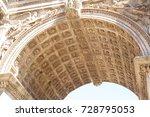 forum romanum  rome  italy   08....   Shutterstock . vector #728795053