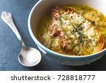 french onion soup with cheese...