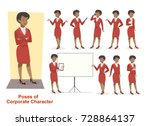 Character Set Businesswoman Or...