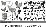 huge super collection or set ... | Shutterstock .eps vector #728889493