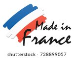 seal of quality with country... | Shutterstock .eps vector #728899057