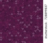 geometric pattern design  | Shutterstock .eps vector #728899837