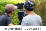 blurry image of video... | Shutterstock . vector #728915557