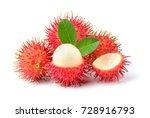 rambutan sweet delicious fruit ... | Shutterstock . vector #728916793