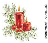 Vintage Christmas Illustration...